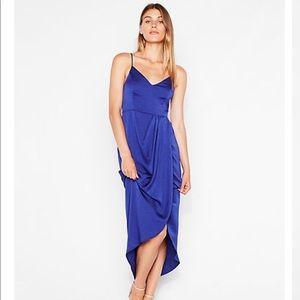 Cobalt High-Low Express Dress